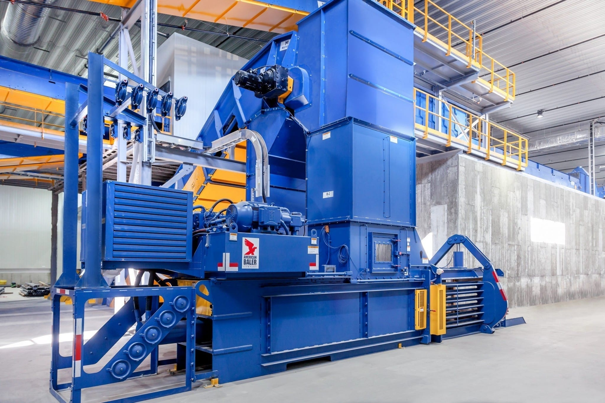 American Wire Tie : Machinex recycling products balers and wires