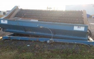 Used Finishing separator FHV-001L front view