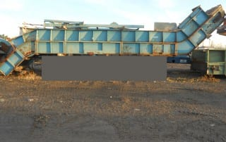 Used Chain Roller Conveyor