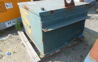Used electro magnet for sale side view